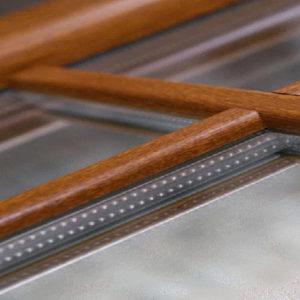 finestra in Pvc legno